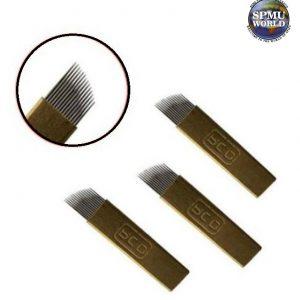 PCD Brass Microblades